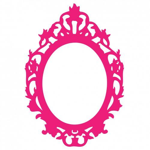 Ornate Pink Frame Clipart