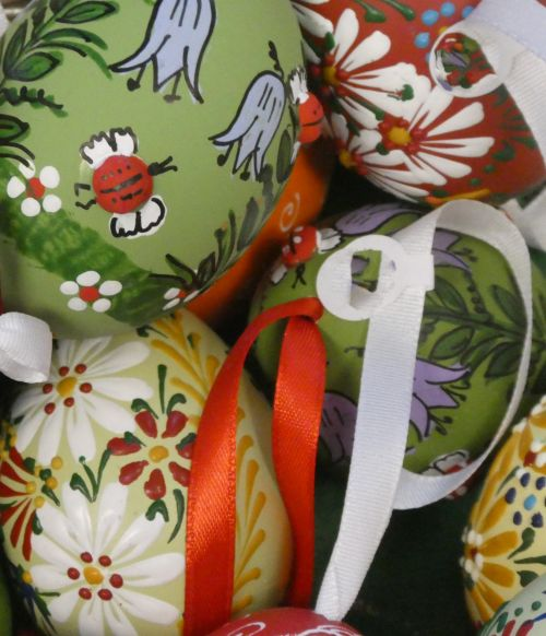 Ornately Decorated Easter Eggs