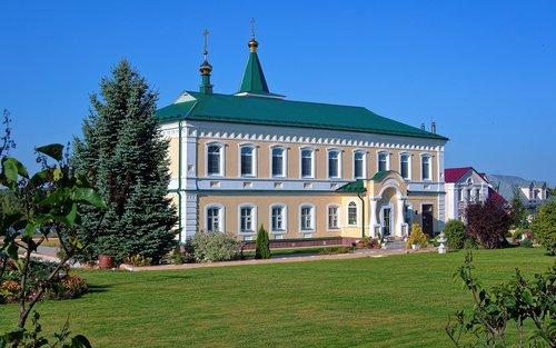 orthodox skete  monastery  refectory