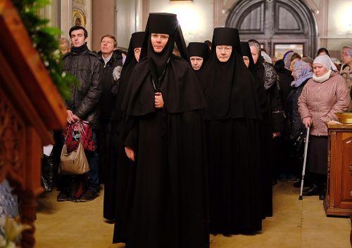 orthodoxy monastery service