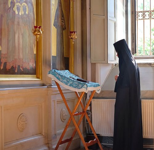orthodoxy monastery prayer