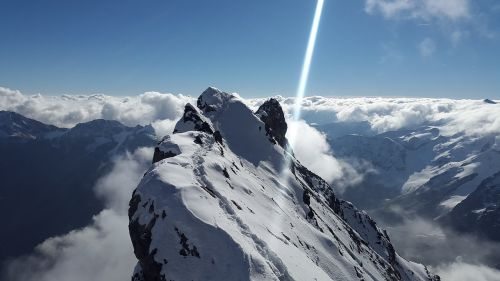 ortler ridge high-altitude mountain tour