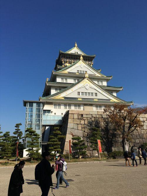 osaka castle castle japan