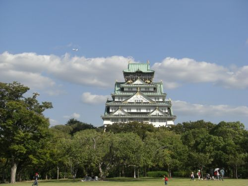osaka castle the castle tower kinjo