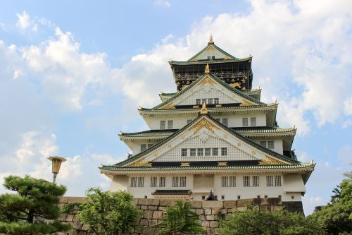 osaka castle osaka structure
