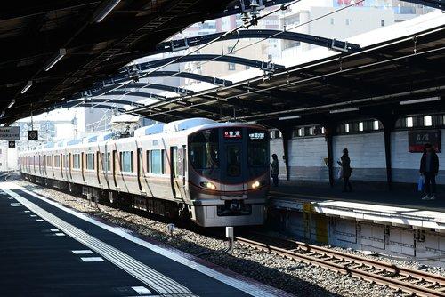 osaka loop line  japan  osaka train