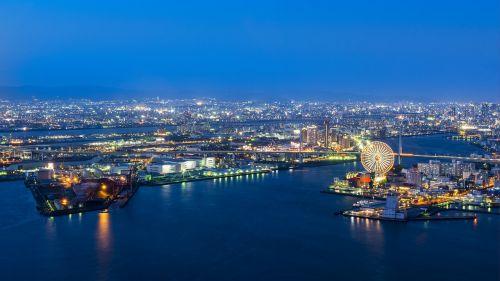osaka port port of osaka japan