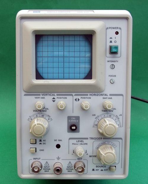 oscilloscope visual test