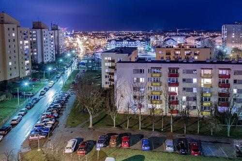 osiedle  housing  blocks