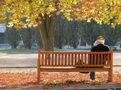 ostfildern  autumn  lonely
