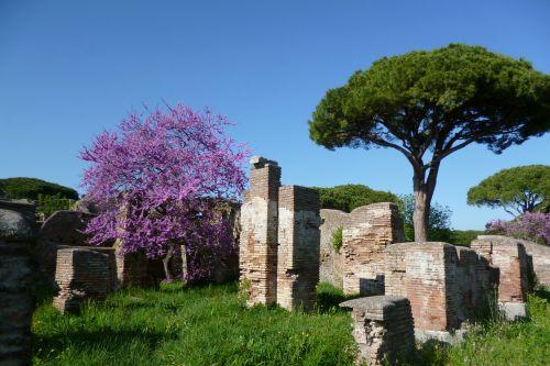 ostia antica italy ruins