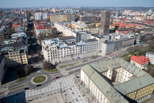 ostrava city urban general views