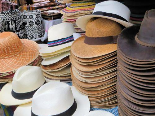 otavalo market hats