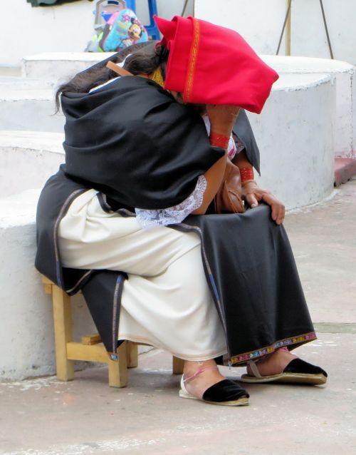 otavalo peasant traditional costume