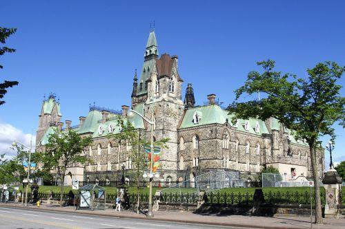 ottawa canada parliament capital of canada