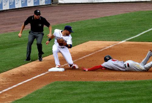 out slide baseball