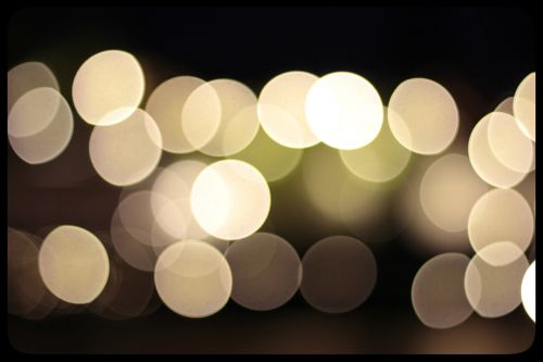 out of focus bokeh background