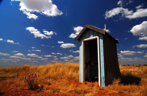outback toilet australia