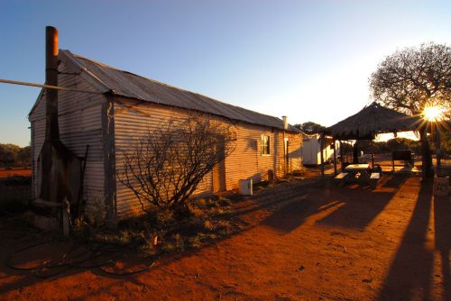 outback australia shearing shed