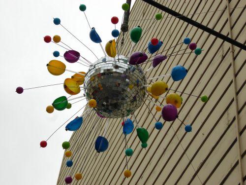 Outdoor Disco Ball