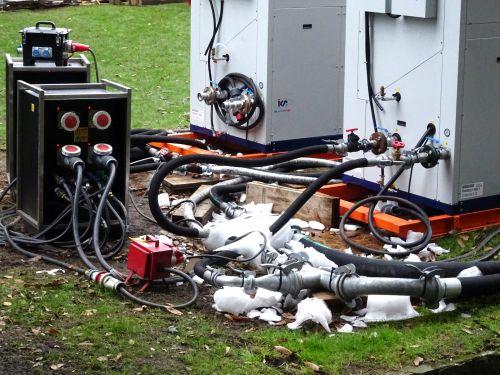 Outdoor Ice Rink Freeze Generator