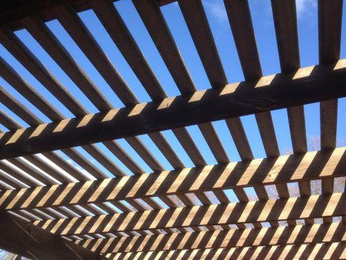 lauke,lauke,lauko architektūra,denio,shed,linijos,zigzagas