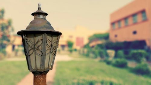 outdoors travel lamppost