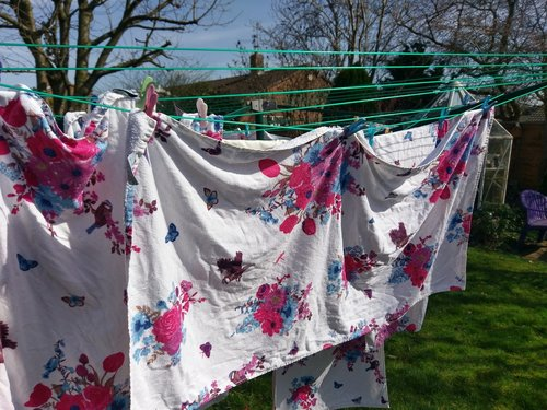 outdoors  laundry  clothesline