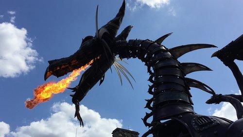 outdoors  dragon  disney