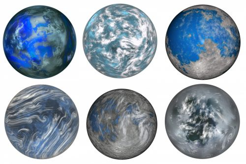 Outer Space Planets 1