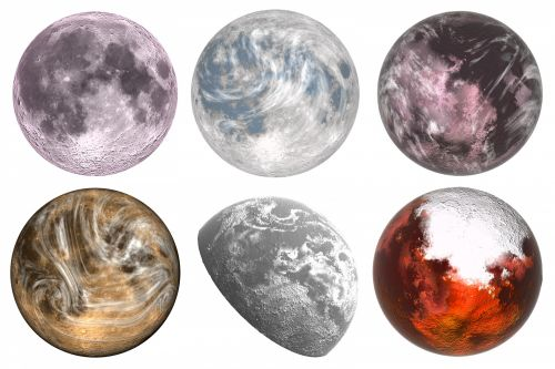 Outer Space Planets 2