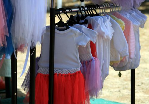 Outfits For Children At Market