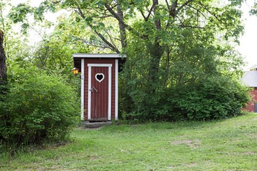 outhouse country dry toilet