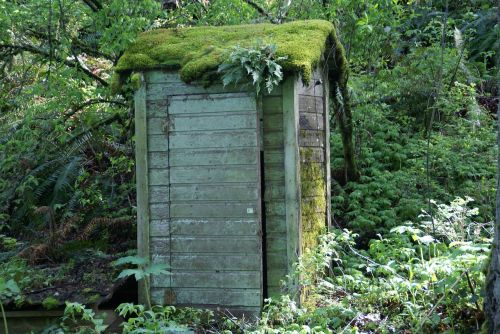 outhouse shed building