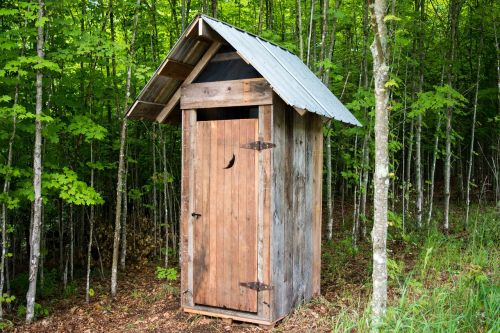 outhouse bathroom camping