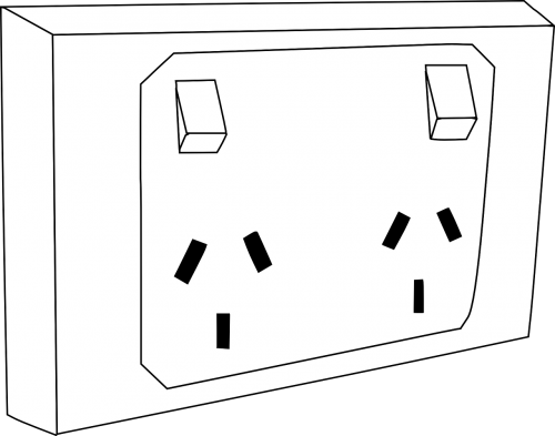outlet socket double