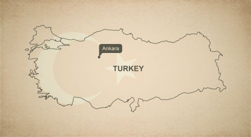 outline map turkey
