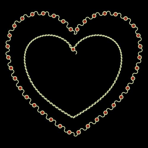 Outlined Heart