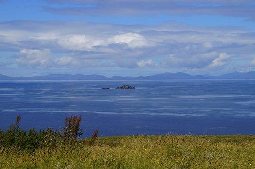 outlook  sea  scotland