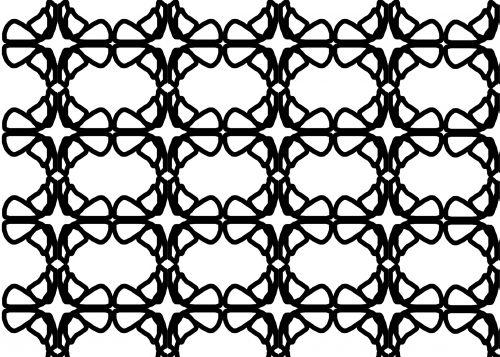 Oval Geometric Background