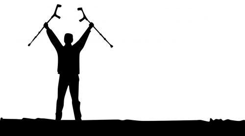 overcoming victory crutch