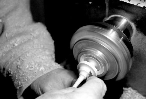 overelaborate lathe hand labor