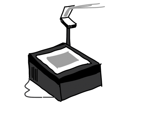 overhead projector projector mapping