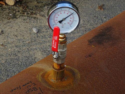 Overland Pipe Pressure Gauge Lever