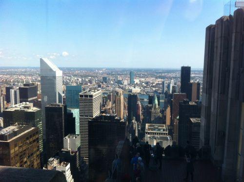 overlooking the city new york panorama new york