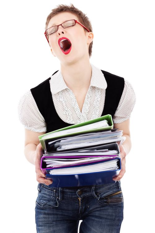 Overwhelmed Employee