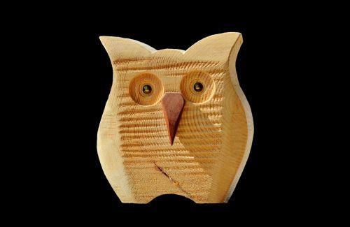 owl wood owl deco