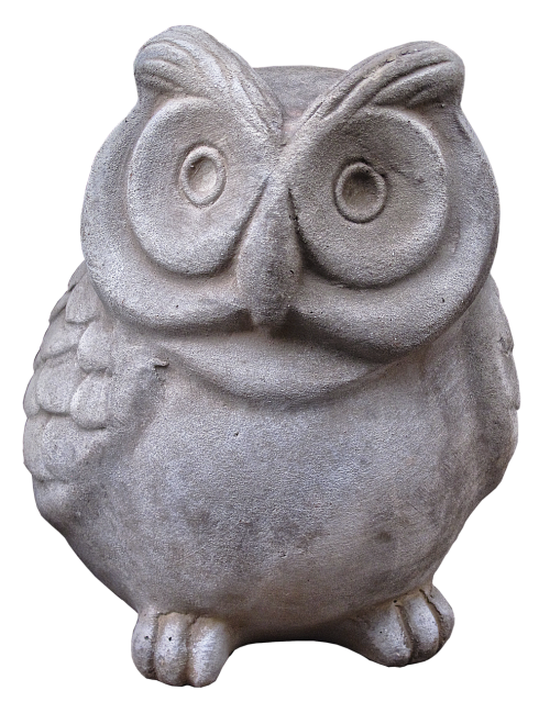 owl figure ceramic