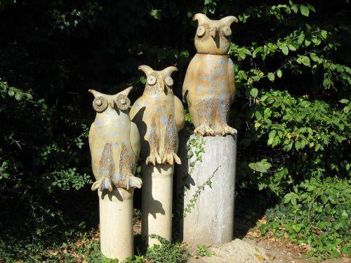 owls wood artwork