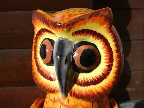 Owls Eyes Sculpture